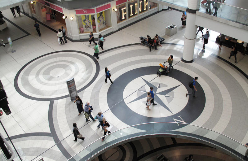 The Eaton Center - Toronto, Canada   Santamargherita Flooring