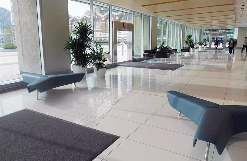 Granville Lobby - Vancouver, Canada | Santamargherita Flooring