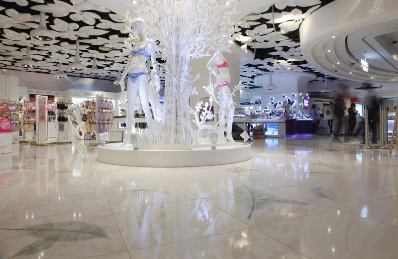 Hysan Place - Causeway Bay, Hong Kong | Santamargherita Flooring