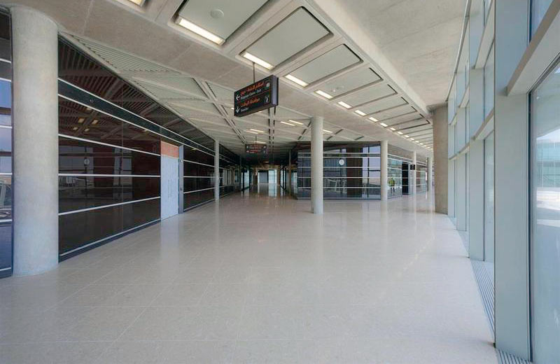 Queen Alia International Airport - Amman, Jordan | Santamargherita Flooring