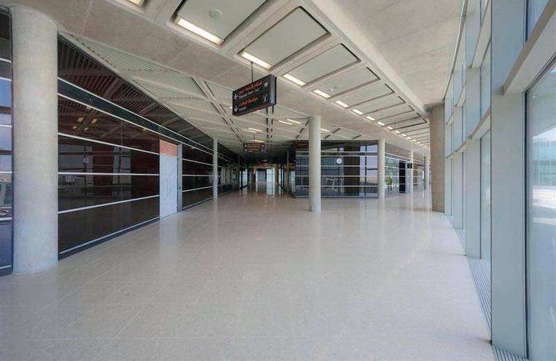 Queen Alia International Airport - Amman, Jordan | Santamargherita Flooring